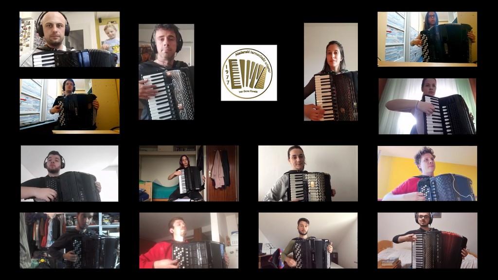 Harmonikaška izvedba teme Igre prijestolja iz karantene