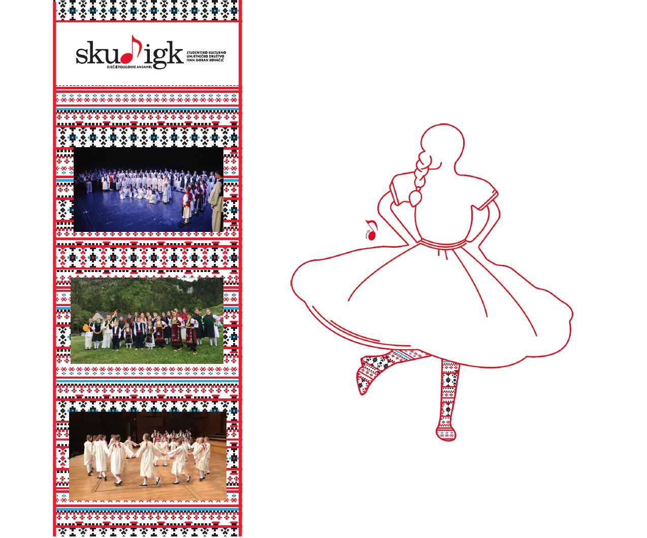 Primanje članova u Dječji folklorni ansambl: Rujan / Listopad