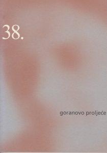 38. Goranovo proljece, katalog
