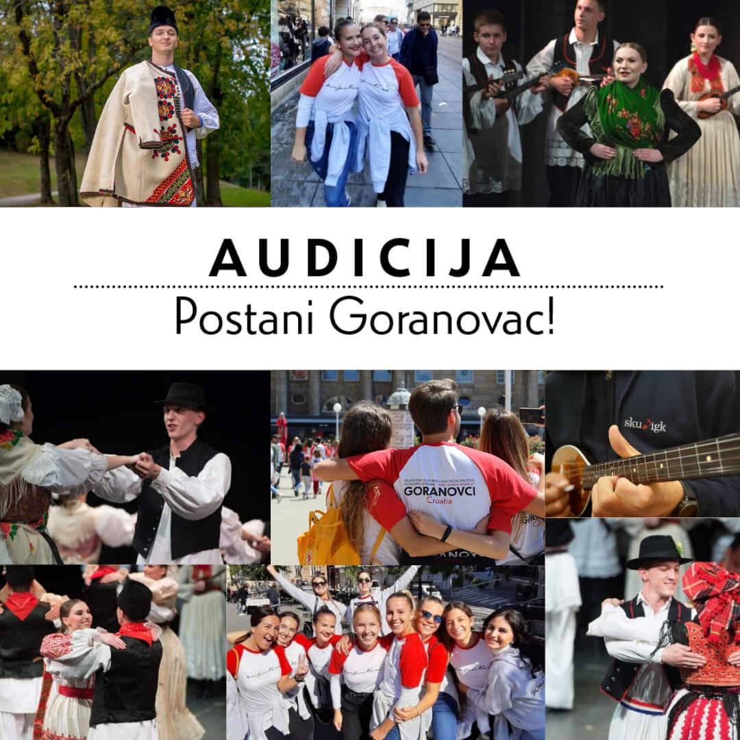 Audicije za Folklorni i Dječji folklorni ansambl